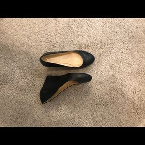 Wedge dress shoe
